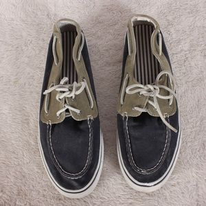 Sperry Top-SIder Blue/Tan Canvas Shoes